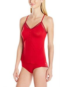 Calvin Klein Women's Sleepwear Gift Set, Regal Red, Large