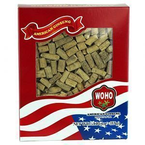 WOHO American Ginseng #122.4 Prong Medium 4oz. Box