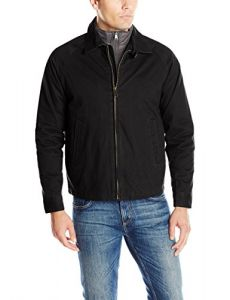 Lucky Brand Men's Adelson Golf Jacket, Black, M