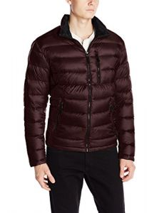 Calvin Klein Men's Packable Down Jacket, Chianti, X-Large