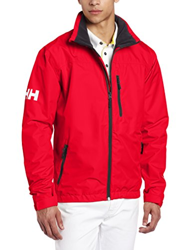 Helly Hansen Crew Midlayer Jacket, 162 Red, Large