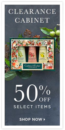 50% Off Select Items @ Crabtree & Evelyn