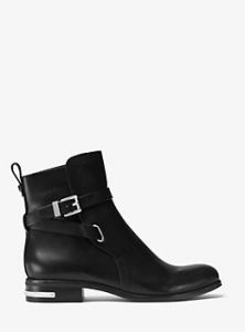 MICHAEL MICHAEL KORS  Arley Leather Ankle Boot