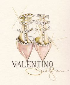 Valentino Handbags & Shoes Indulgent finishing touches by the glamorous fashion house