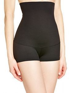 Maidenform Flexees Women's Shapewear Minimizing Hi-Waist Boyshort , Black, Small