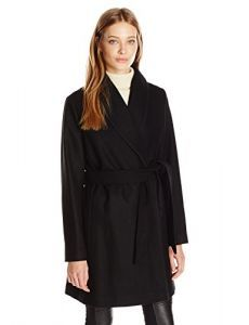 Tommy Hilfiger Women's Wool Wrap Coat Now Only $83.43