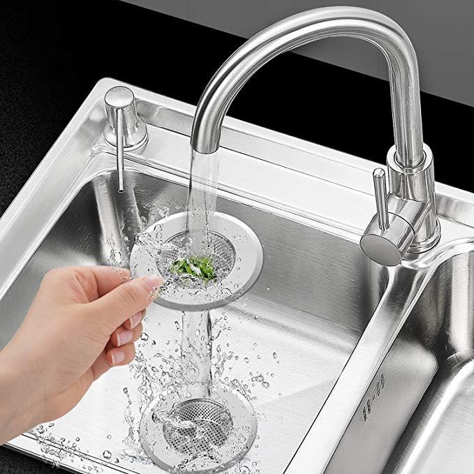 5 star rated 3 pack kitchen sink strainer for only 8 99 dealsaving rh dealsaving com
