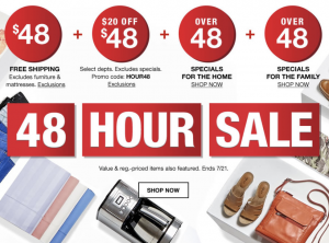 MACYS 48 HOURS SPECIAL PRICED ITEMS FOR THE WHOLE FAMILY!