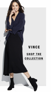 NEIMAN MARCUS LAST CALL WEEKEND SPECIAL! VINCE UP TO 75% OFF! PRICES AS LOW AS $40!