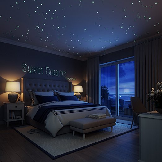 Create the perfect starry sky with best selling glow in for Constellation ceiling mural