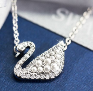 SWAROVSKI SWAN NECKLACES, EARRINGS, & MORE NOW UP TO 50% OFF!